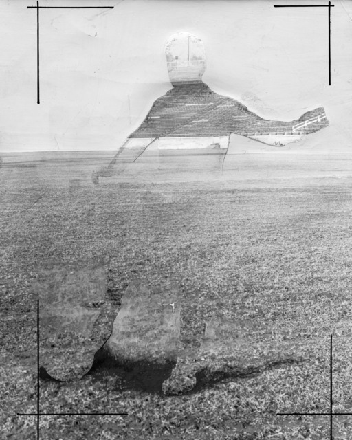 , 'Abandoned Soccer,' 2016, SETAREH GALLERY