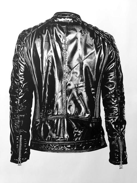 , 'Black Armor,' , saltfineart