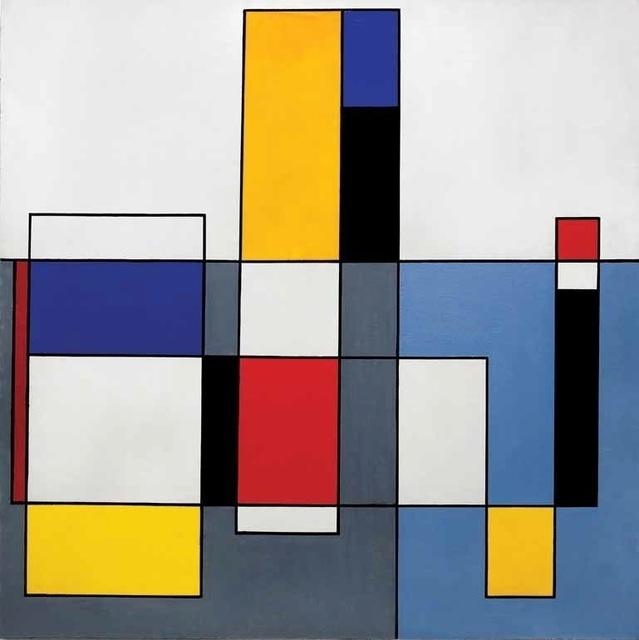 , 'Planos y direcciones,' 1955, Museo de Arte Contemporáneo de Buenos Aires