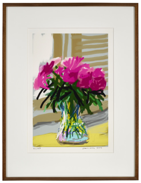 "David Hockney, '28th June 2009 ""No. 535""', 2009, Print, Eight-colour inkjet iPad print on cotton archive paper, DELAHUNTY"