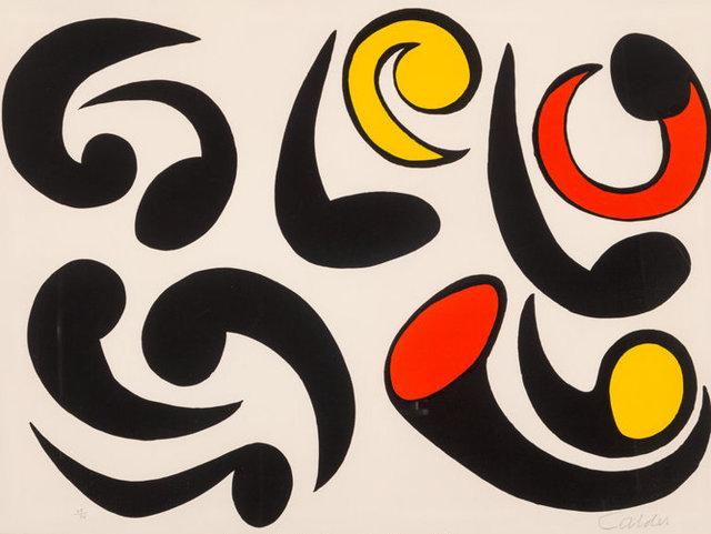 Alexander Calder, 'Autres tetaros', 1976, Kunzt Gallery