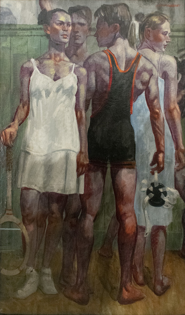 Mark Beard, 'Tennis Whites & Wrestling Singlet', Carrie Haddad Gallery