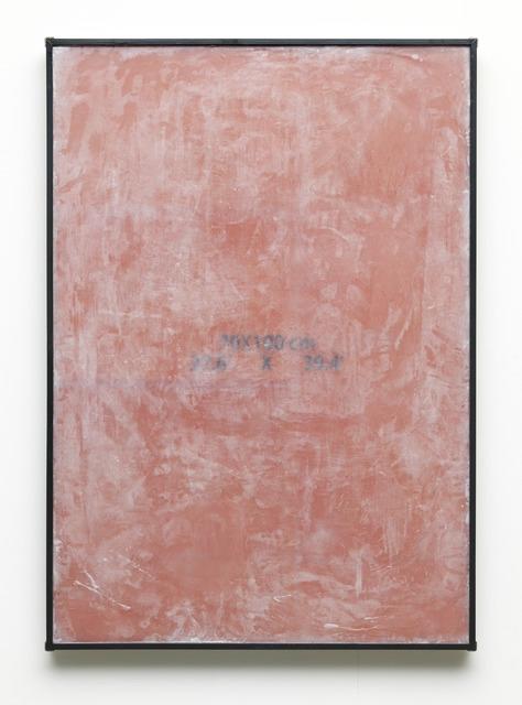 , '70 x 100 cm,' 2015, Dürst Britt & Mayhew