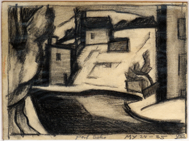 , 'Port Soho,' 1935, DC Moore Gallery