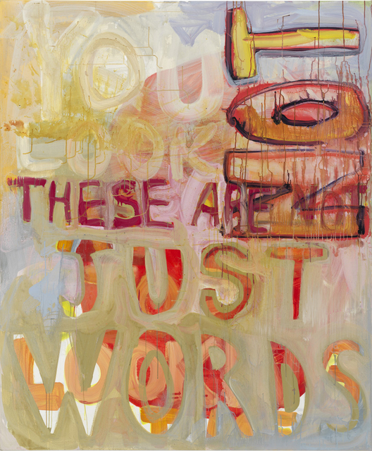 , 'Just Words,' 2016, Page Bond Gallery