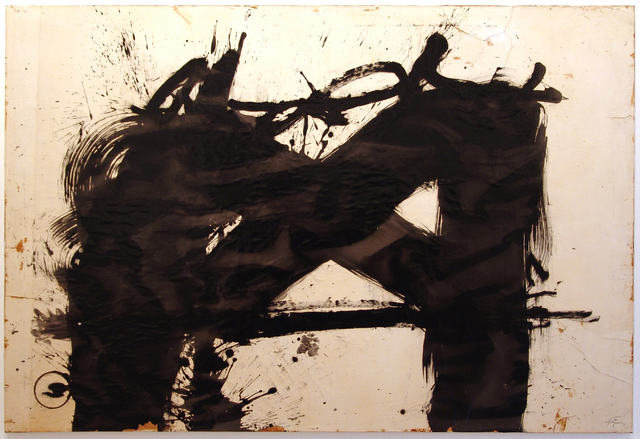 , 'Large Black Sing,' 1981, Fernández-Braso