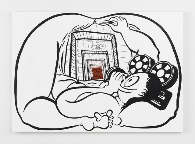 , 'Fatebe Self Possession,' 2017, Magenta Plains