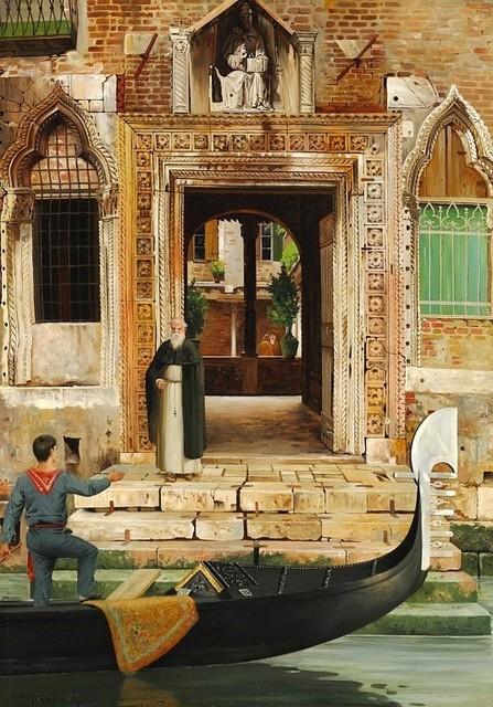 , 'Abbey of San Gregorio,' 1887, A. Pallesi Art Gallery