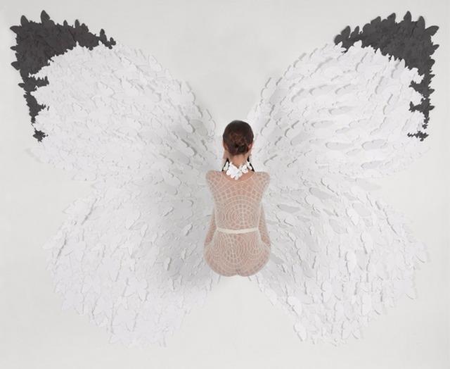 , 'White Glider,' 2012, Nohra Haime Gallery
