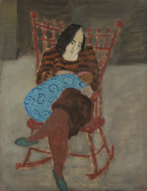 , 'Mother and Child,' 1932, Debra Force Fine Art