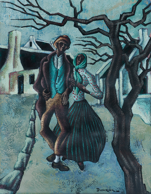 , 'The Couple  ,' Prior 1955, EBONY/CURATED
