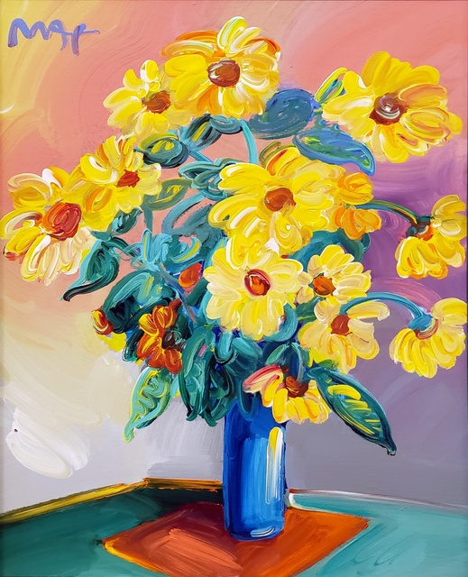 Peter Max, 'Homage to Monet: Sunflowers ', 2014, Off The Wall Gallery