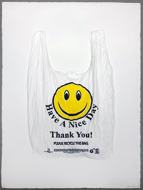 Analia Saban, 'Have a Nice Day, Thank You! Plastic Bag', 2016, Jonathan Novak Contemporary Art