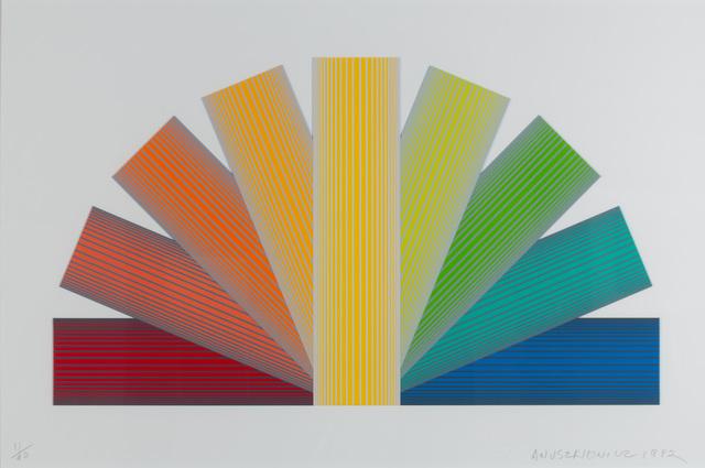 , 'Grey Tinted Rainbow,' 1992, WOLFS