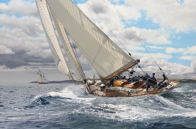 , 'Mariquita - Pendennis Cup,' , Beside the Wave