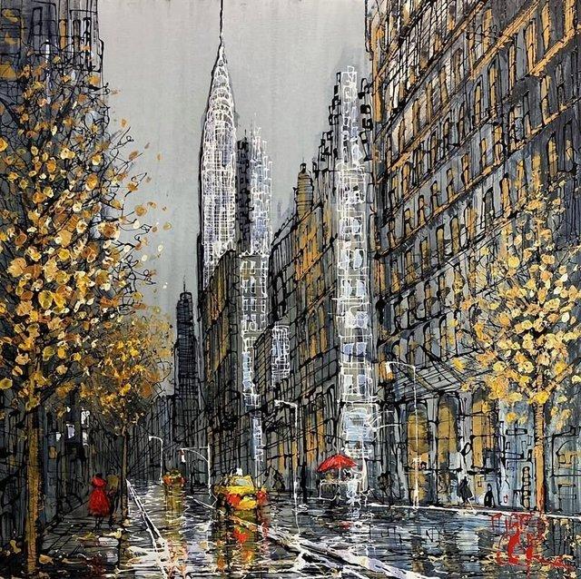 Nigel Cooke (b.1960), 'New York Dreams', 2020, Painting, Acrylic on aluminium panel, Reem Gallery
