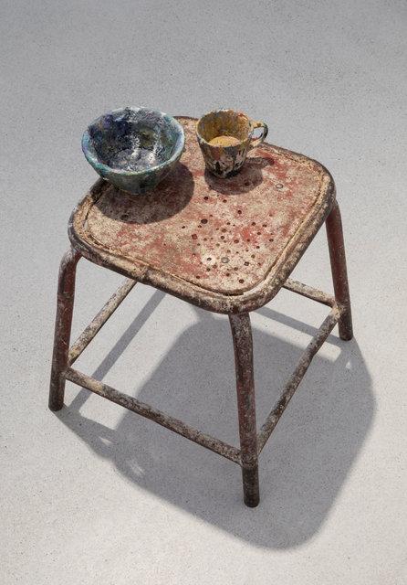 , 'A splash of colour / precious stool,' , Galerie Zink