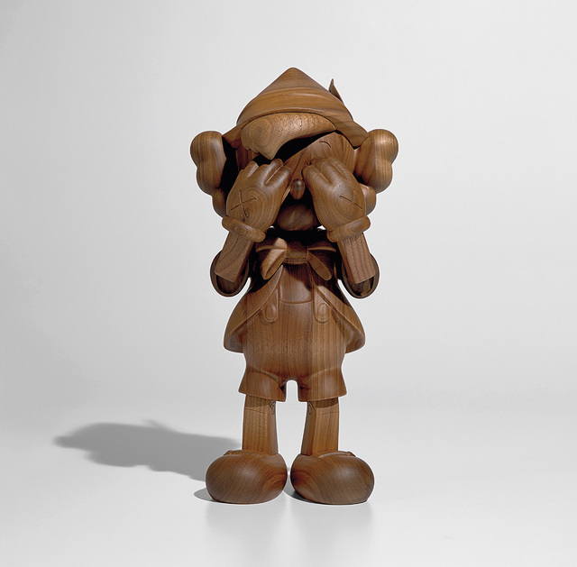 KAWS, 'PINOCCHIO', 2017, Sculpture, Wood, Phillips