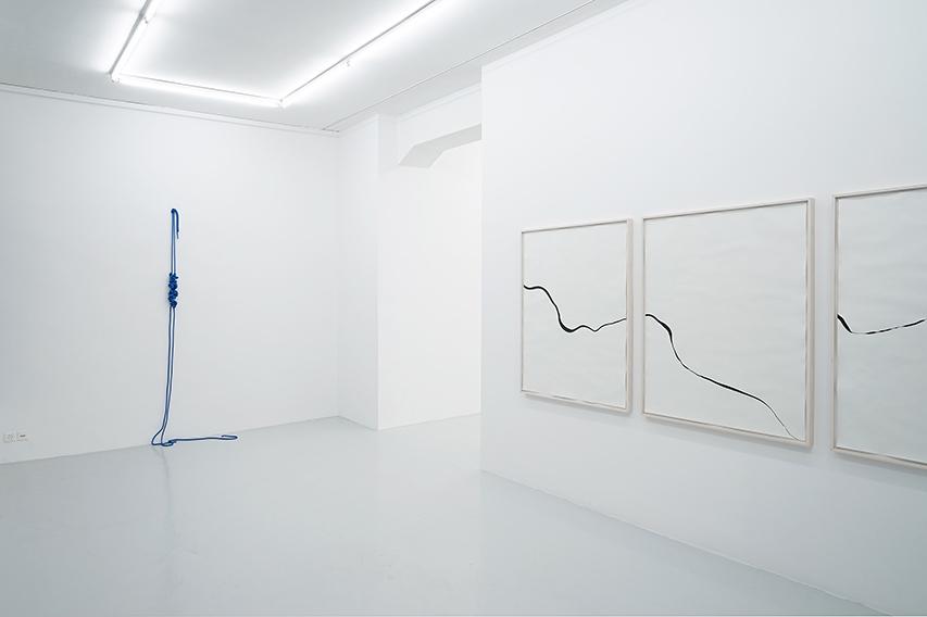 Franziska Furter: Waves and Particles, Installation view, Lullin + Ferrari, Zurich, 2018