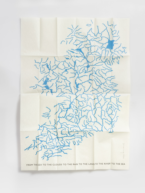 Richard Long, 'Irish Rivers', 1998, Artsnap