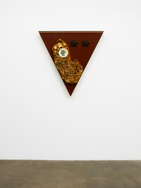 , 'Saturated Triangle (double sea-lion),' 2013, David Kordansky Gallery