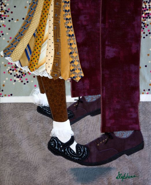Phyllis Stephens, 'Tied to the Shoe-to-Shoe', 2018, Richard Beavers Gallery