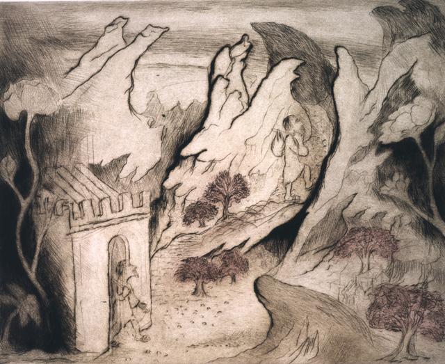 , 'After Giovanni di Paolo,' 1993, Marlborough London