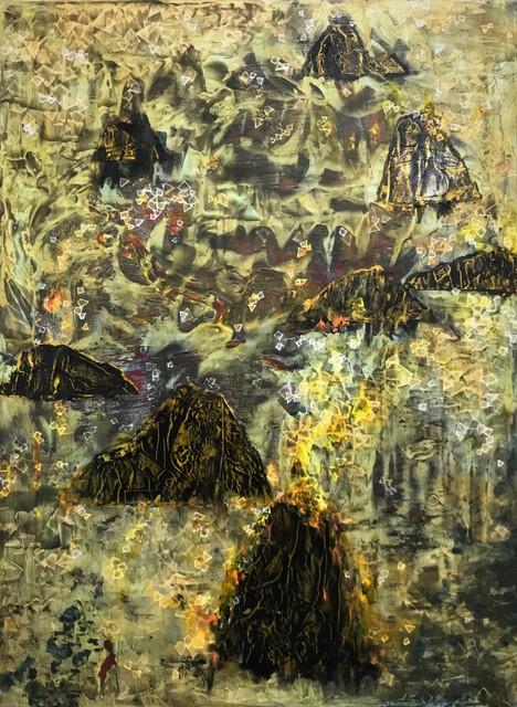 Tsang Chui Mei, 'Burn (1)', 2019, Painting, Acrylic on canvas, Karin Weber Gallery