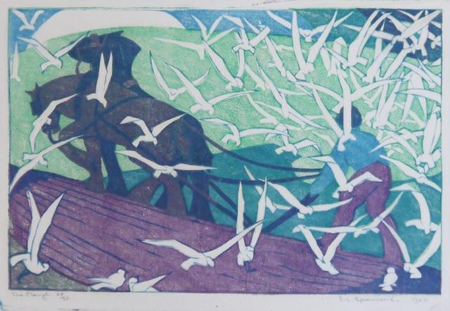 , 'The Plough,' 1928, Osborne Samuel