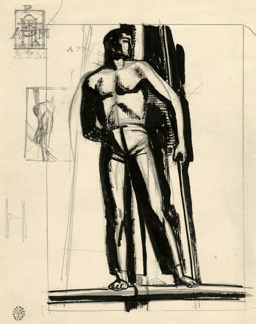 , '[The Lookout, Related Studies],' ca. 1930, Childs Gallery