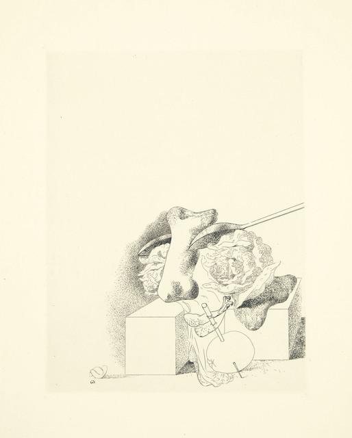 Salvador Dalí, 'Les Chants de Maldoror, one plate', 1934, Christie's