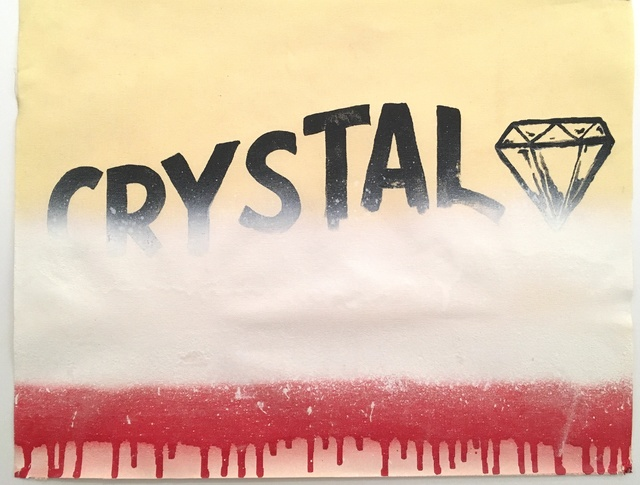 , 'Crystal,' 2018, Deep Space Gallery