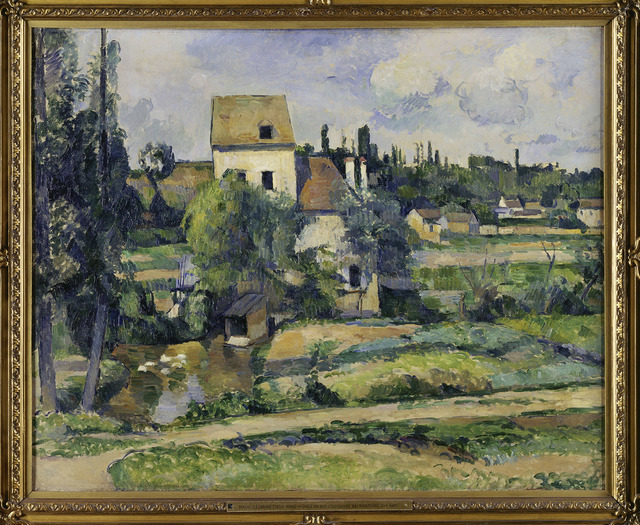 , 'The Mill on the Couleuvre near Pontoise,' about 1881, The National Gallery, London