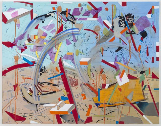 , 'Supergirl 20,' 2017, Johannes Vogt Gallery