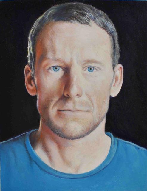 , 'Lance Armstrong,' 2012, Pierogi