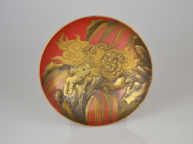 , 'Gold Lacquer Sake Cup with Lion Dog,' 18/19th Century, Galerie Kommoss