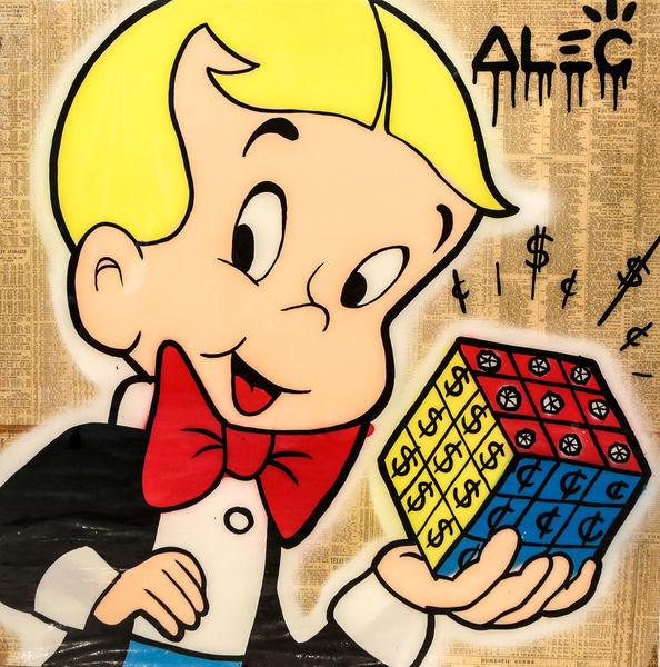 , 'Richie $ Rubik's Cube ,' 2018, Eden Fine Art