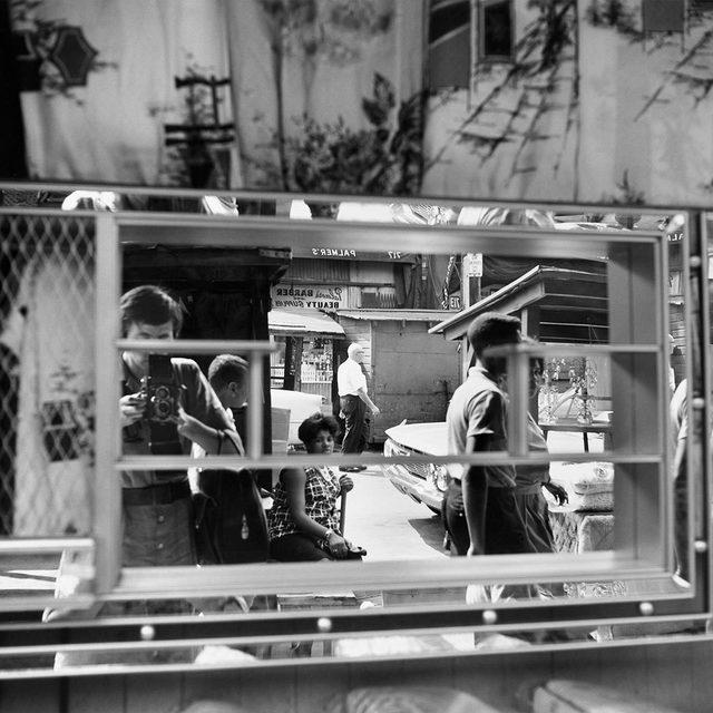 Vivian Maier, 'Self-portrait, Halsted Street, Chicago', 1925, Howard Greenberg Gallery