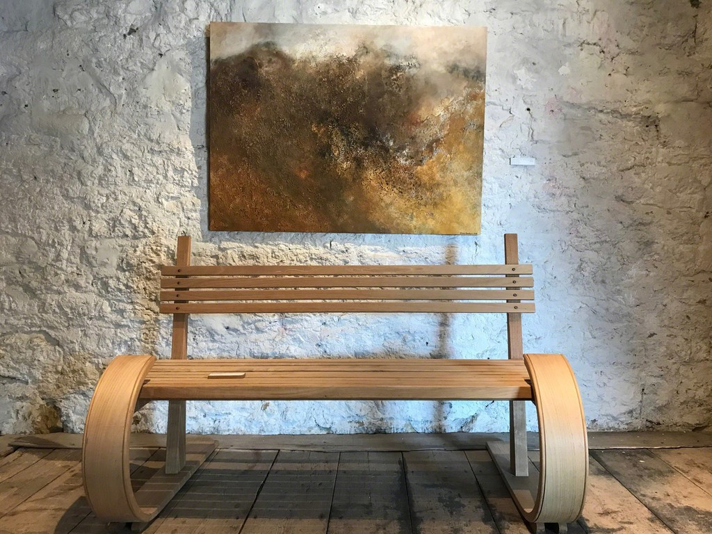 Nothing save its own wild face was visible by Brian Graham with Petter Southall's Sleigh Bench