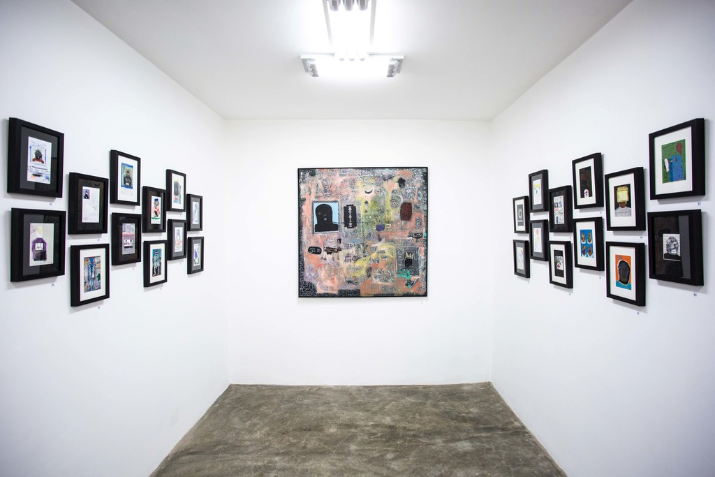 Works by Emanuel Tegene in Addis Calling Group Show