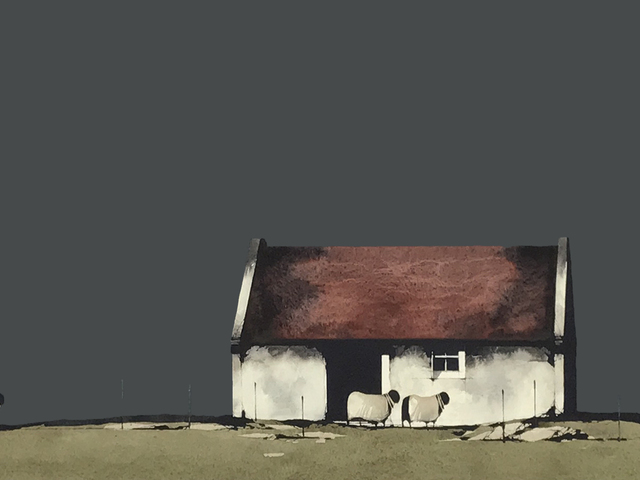 , 'Old Building, Skye,' 2018, The Lemond Gallery