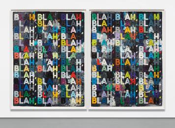 Mel Bochner, 'Blah, Blah, Blah,' 2012, Phillips: 20th Century and Contemporary Art Day Sale (November 2016)