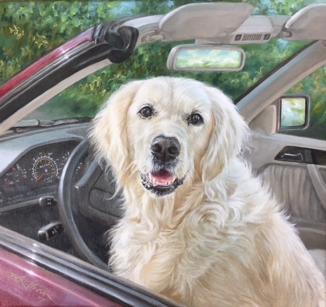 """, '""""One for the Road"""",' 2017, Dog & Horse Fine Art"""