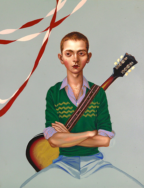 , 'Portrait of a Musician,' 2007, Catharine Clark Gallery