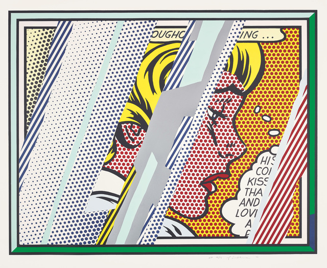 Roy Lichtenstein, 'Reflections on Girl, from Reflections Series', 1990, Phillips