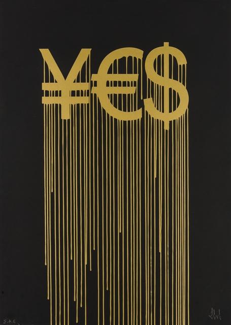 Zevs, 'Liquidated Yes', 2012, Forum Auctions