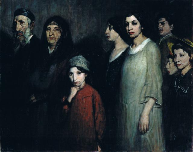 , 'The Emigrants,' ca. 1910, Ben Uri Gallery and Museum
