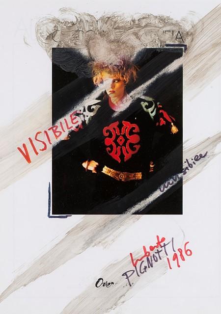 Lamberto Pignotti, 'Visibile, invisibile', 1986, Finarte