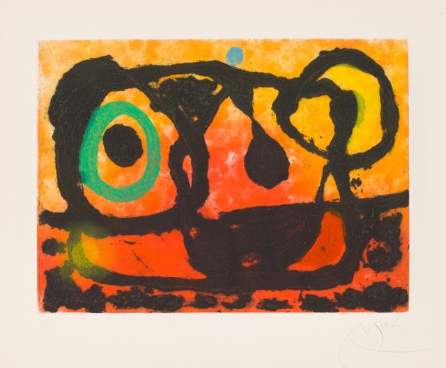 Joan Miró, 'Head of the Setting Sun', 1967, Christopher-Clark Fine Art
