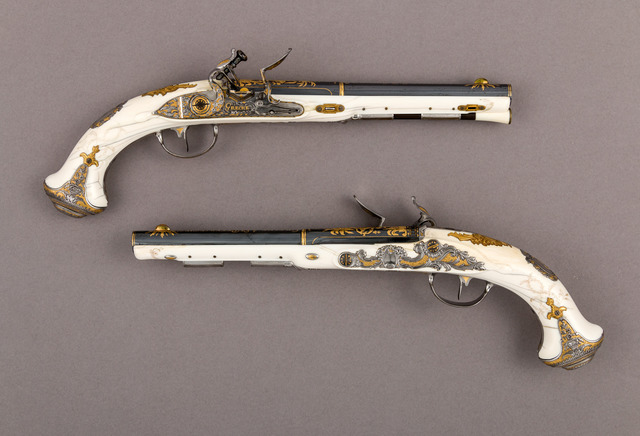 Johan Adolph Grecke, 'Pair of Flintlock Pistols of Empress Catherine the Great (1729–1796)', 1786, The Metropolitan Museum of Art